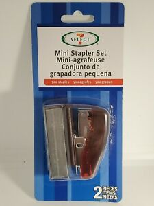 Mini Stapler Set With 500 Staples Great For Student s