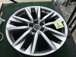 20x8 5 Mazda Cx 9 2016 2017 2018 Factory Wheel 9965018500 Used W Chips Scratches