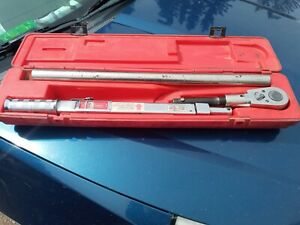 Snap On 3 4 Drive Torque Wrench 600ft Lbs 1200value Snap On Life Time Warranty