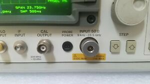 Hp agilent 8562a Opt 026 Freshly Aligned And Cal ed 26 5 Ghz Spectrum Analyzer