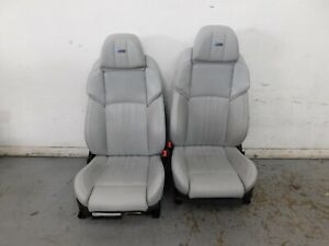 2013 12 14 15 16 Bmw M5 F10 Gray Leather Heated Cooled Power Front Seats 5465