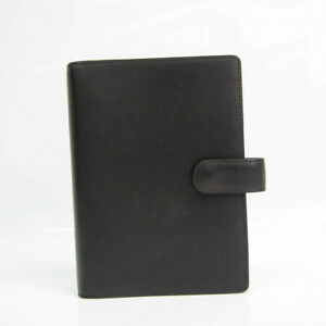 Louis Vuitton Nomade Leather Bible Size Planner Cover Noir Agenda Mm R2 Bf530520
