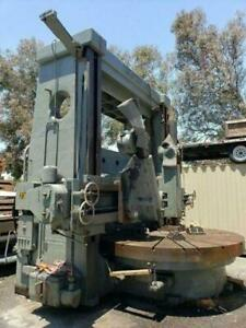 Henry Broadbent Twin Head Vertical Turret Lathe 108 Table Best In The Business