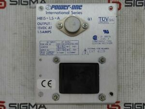 Power one Hb15 1 5 a Power Supply