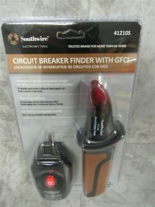 New Selaed Southwire 41210s Circuit Breaker Finder Kit With Gfci Test