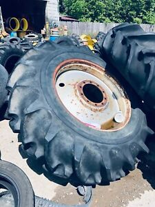 2 Used 20 8x38 Goodyear R 1 Ag Tires With Wheels