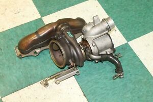12 14 Z4 Roadster 2 0l Turbo Charger Sdrive28i Forced Induction W Manifold Oem