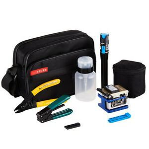 9 In 1 Fiber Optic Ftth Tool Kit With Fc 6s Fiber Cleaver And Power Mets6