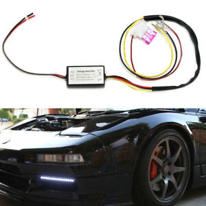 1pc Drl Controller Auto Car Led Daytime Running Light Relay Harness Dimmes6