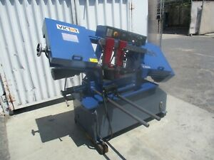 Late Model 2014 Victor 10 Automatic Horizontal Band Saw Auto 10hs