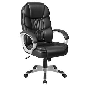 High Pu Leather Executive Office Desk Task Computer Boss Luxury Chair