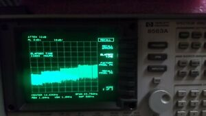 Hp agilent 8563a Opt 026 Freshly Aligned And Cal ed 26 Ghz Spectrum Analyzer