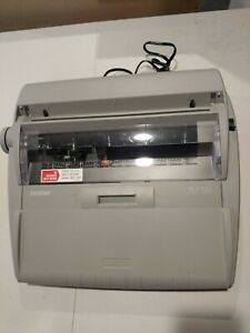 Brother Sx 4000 Portable Daisy Wheel Electronic Typewriter