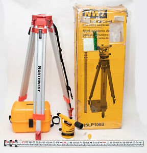 Nwi Nslp100b Siteline Level Package Level Builders Tripod And 9ft Grade Rod