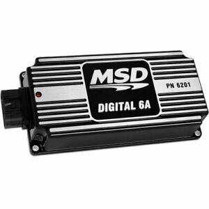 Msd Ignition 62013 Digital 6a Ignition Control Per Spark Energy 135 145 Mj Will