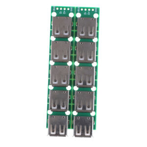 10pcs Type A Dip Female Usb To 2 54mm Pcb Board Adapter Converter For Arduino Ru
