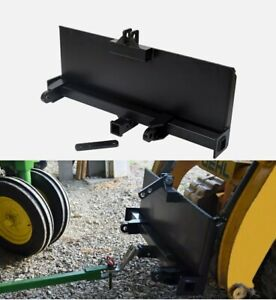 3 point Attachment Adapter For Universal Skid Steer Quick attach Equipment