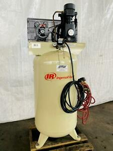 5 Hp Ingersoll Rand T54wb Vertical Piston Type Air Compressor Stock 0631521