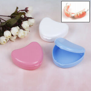 Dental Orthodontic Retainer Box Case For Denture Teeth Mouth Guard Storage Y Wq