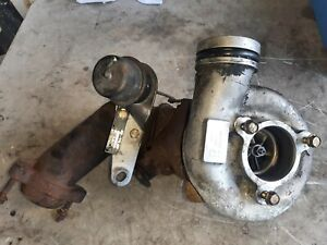 96 02 Chevy Express 6 5 Diesel Complete Turbo W Wastegate Exhaust Flange