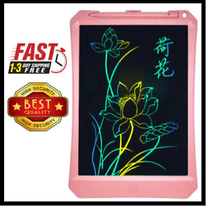 20 X 11 Colorful Partial Erasing Doodle Pad Drawing Board Lcd Writing Tablet