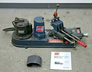 Ammco 880 Brake Shoe Grinder W 8150 Clamp New Abrasive Belts And Manual