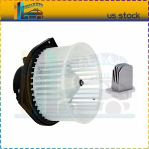 Front Blower Motor With Resistor Fit For 1995 1996 1997 1998 1999 Nissan Maxima
