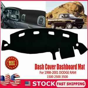 Dashboard Pad Dash Cover Mat 1998 1999 2000 2001 For Dodge Ram 1500 2500 3500 Us