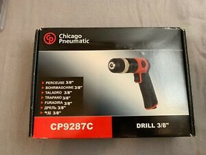 Chicago Pneumatic Cp9287c 3 8 Pistol Air Drill 3000 Rpm New In Package