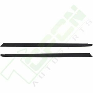 2x Truck Bed Cap Molding Rail Cover For 2014 2020 Toyota Tundra 6 5 Ft Bed
