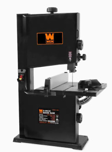 Wen 3939t 2 8 amp 9 inch Benchtop Band Saw Woodworking Bandsaw Shop Wen New