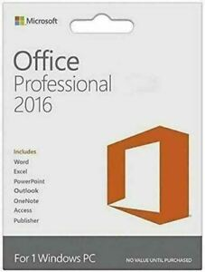 Microsoft Office Professional Plus 2016 Download Link For Windows 1pc 1user