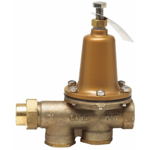 Watts Pressure Reducing Valve 1 2 In Brass Fpt X Fpt