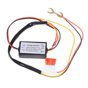 Car Led Daytime Running Light Automatic On Off Controller Module Relay Kits Vu