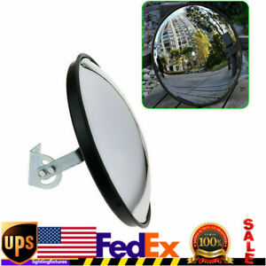 Traffic Convex Mirror Wide Angle Safety Mirror Driveway Outdoor Security US SALE $26.00