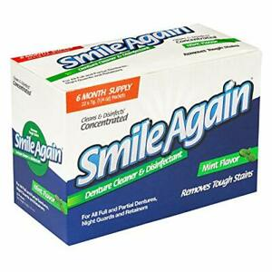 Smile Again Denture Mouth Guard Night Guard Retainer Cleaner And Disinfectant