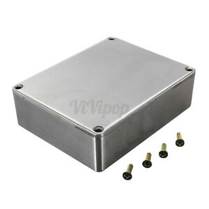 1590b Style Guitar Effects Aluminum Stomp Box Electrical Enclosure Project