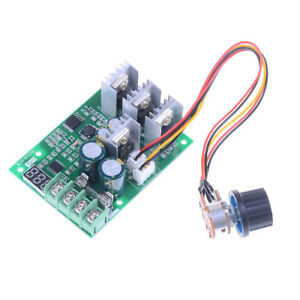 Pwm Dc6 60v 30a Motor Speed Controller Module Dimmer Current Display B Or