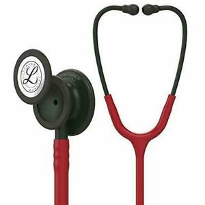 Classic Iii Monitoring Stethoscope Black finish Chestpiece Stem And Headset 27in