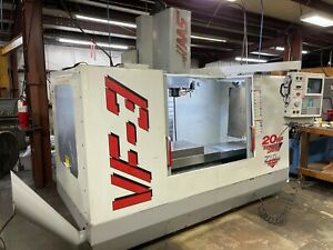 Haas Vf3 1997 Rigid Tapping 4th Axis Wiring Programmable Coolant
