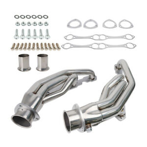 Fit Chevy Pontiac Buick 265 400 Small Block Stainless Racing Manifold Header