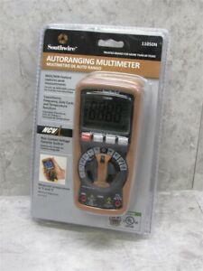 New In Package Sealed Southwire Autoranging Multimeter 11050n Fast Shipping