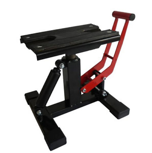 New 300lb Adjustable Lift Jack Lift Stand Repairing Table For Motorcycle