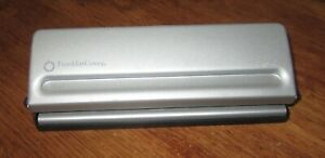Classic desk Size Ergo 7 Hole Punch Franklin Covey Planner binder Day timer