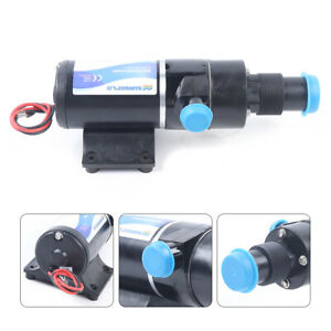 12v Rv Mount Macerator Waste Water Pump 45lpm Boat Rv Marine Lift Up To 9 8 Ft