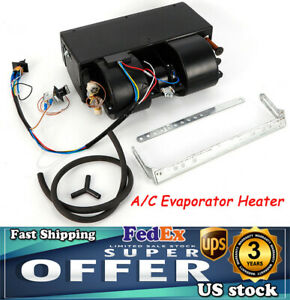Universal Underdash Car A C Air Conditioning Evaporator Unit Heating Cooling Kit