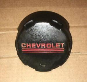 88 94 Gmc Truck 1500 Black Leather Steering Wheel Horn Pad Button Suburban Chevy