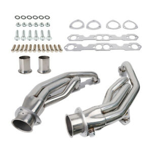 Exhaust Header For 1988 1997 Chevy Gmc Truck Small Block Sbc 307 327 305 350 400
