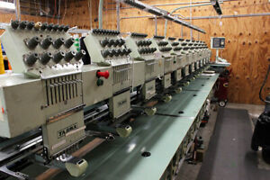 Commercial Embroidery Machines All 3 For Low Price Or Seperate