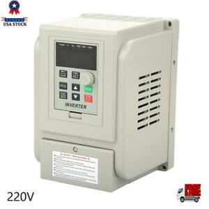 2 2kw 220v 12a Variable Frequency Drive Inverter Vfd Single To 3 Phase Ac Motor